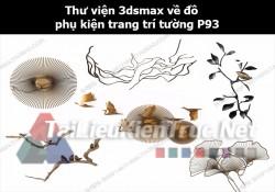 Thư viện 3dsMax về đồ phụ kiện trang trí tường p93