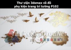 Thư viện 3dsMax về đồ phụ kiện trang trí tường p102