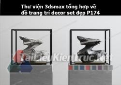 Thư viện 3dsMax tổng hợp về đồ trang trí decor set đẹp p174