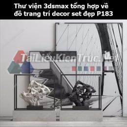 Thư viện 3dsMax tổng hợp về đồ trang trí decor set đẹp p183