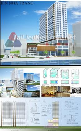 Đồ án tốt nghiệp kiến trúc sư - Khách sạn Du lịch biển Nha Trang 2