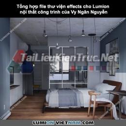 Tổng hợp file Thư viện Effects cho Lumion nội thất công trình của Vy Ngân Nguyễn