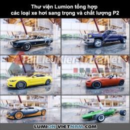 Thư viện Lumion Tổng hợp các loại xe hơi sang trọng và chất lượng p2