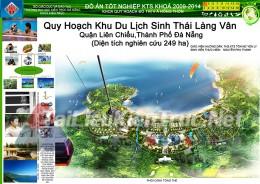 Đồ án tốt nghiệp KTS - Quy hoạch Khu Du Lịch Sinh Thái Làng Vân - Đà Nẵng