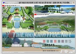 Đồ án tốt nghiệp KTS - Quy hoạch Khu Nghĩ Dưỡng Bãi Bụt - Sơn Trà - Đà Nẵng
