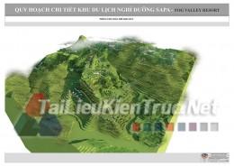 Đồ án tốt nghiệp KTS - Quy hoạch chi tiết khu du lịch nghỉ dưỡng SAPA