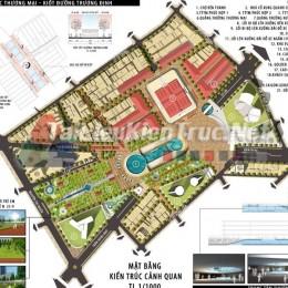 Đồ án tốt nghiệp - Quy hoạch Thiết kế đô thị khu vực chợ Bến Thành