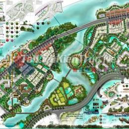 Đồ án tốt nghiệp - Quy hoạch Thiết Kế Đô Thị Khu Dân Cư Ven Rạch Bà Lớn - Quận 8 - Tp. Hồ Chí Minh