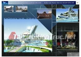 Đồ án tốt nghiệp KTS - Khách sạn khu resort Đồng Mô Sơn tay Hà Nội