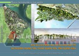 Đồ án tốt nghiệp KTS - Quy hoạch xây dựng khu du lịch sinh thái và vui chơi giải trí