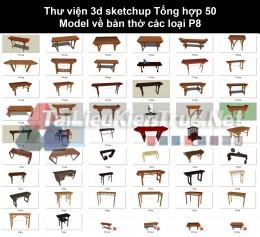 Thư viện 3d sketchup Tổng hợp 50 Model về bàn thờ các loại P8