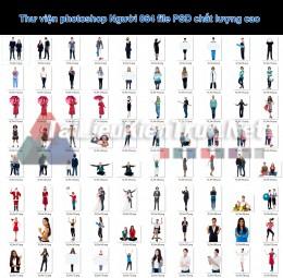 Thư viện photoshop Người 064 file PSD chất lượng cao