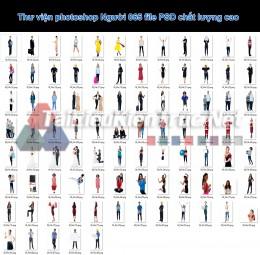 Thư viện photoshop Người 065 file PSD chất lượng cao