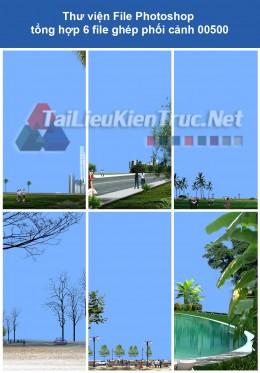 Thư viện File Photoshop tổng hợp ghép phối cảnh 00500