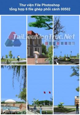 Thư viện File Photoshop tổng hợp ghép phối cảnh 00502