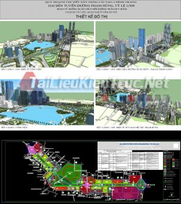 Bản vẽ quy hoạch Xây dựng, cải tạo, chỉnh trang 2 bên đường Phạm Hùng