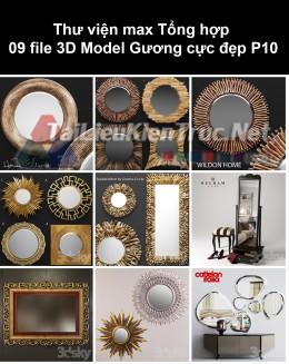 Thư viện max Tổng hợp 09 File 3D model Gương cực đẹp P10