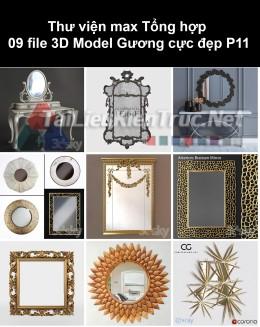 Thư viện max Tổng hợp 09 File 3D model Gương cực đẹp P11