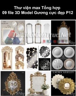 Thư viện max Tổng hợp 09 File 3D model Gương cực đẹp P12