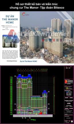 Hồ sơ thiết kế bản vẽ kiến trúc chung cư The Manor- Tập đoàn Bitexco