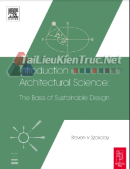 Introduction To Architectural Science By Steven V Szokolay
