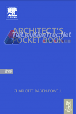 Architect\\\'s Pocket Book By Charlotte Baden-Powell