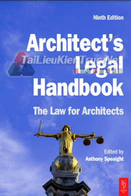 Architect\'s Legal Handbook - The Law For Architects By Anthony Speaight