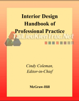 Interior Design Handbook Of Professional Pratice By Cindy Coleman