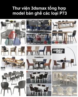 Thư viện 3dsmax tổng hợp Model bàn ghế các loại P73
