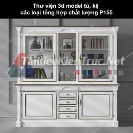 Thư viện 3d model tủ, kệ các loại tổng hợp chất lượng P155