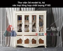 Thư viện 3d model tủ, kệ các loại tổng hợp chất lượng P165