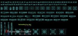 Mẫu hoa văn chi tiết cửa, vách ngăn, tranh cắt CNC 007