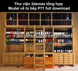 Thư viện 3dsmax tổng hợp Model về tủ bếp P71 full download