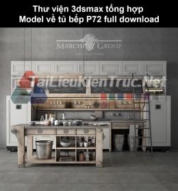 Thư viện 3dsmax tổng hợp Model về tủ bếp P72 full download
