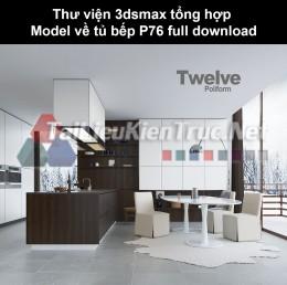 Thư viện 3dsmax tổng hợp Model về tủ bếp P76 full download