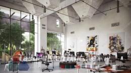 Phối cảnh 3d thiết kế nội thất văn phòng 025 full download