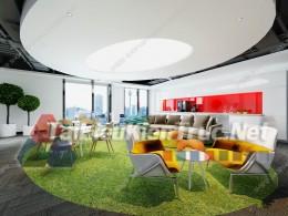 Phối cảnh 3d thiết kế nội thất văn phòng 064 full download