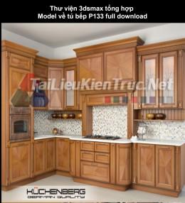 Thư viện 3dsmax tổng hợp Model về tủ bếp P133 full download