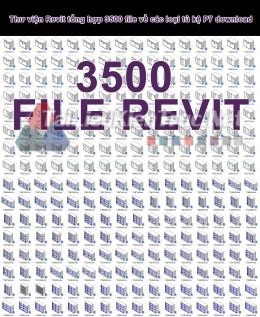 Thư viện Revit tổng hợp 3500 file về các loại tủ kệ P7 download