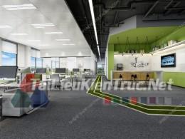 Phối cảnh 3d thiết kế nội thất văn phòng 071 full download