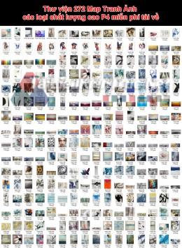 Thư viện 272 Map Tranh Ảnh các loại chất lượng cao P4 miễn phí tải về