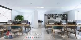 Phối cảnh 3d thiết kế nội thất văn phòng 078 full download
