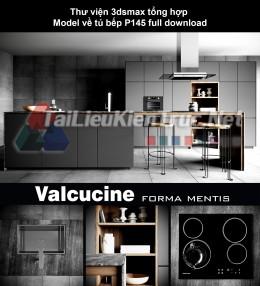 Thư viện 3dsmax tổng hợp Model về tủ bếp P145 full download