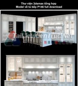 Thư viện 3dsmax tổng hợp Model về tủ bếp P146 full download