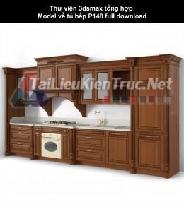 Thư viện 3dsmax tổng hợp Model về tủ bếp P148 full download