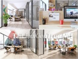 Phối cảnh 3d thiết kế nội thất văn phòng 082 full download