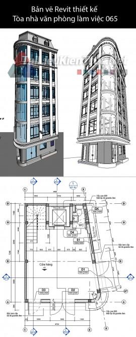 Bản vẽ Revit thiết kế Tòa nhà văn phòng làm việc Phan Chu Trinh 065