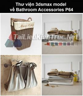 Thư viện 3dsmax model về Bathroom accessories (Đồ dùng phòng tắm) P64