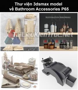 Thư viện 3dsmax model về Bathroom accessories (Đồ dùng phòng tắm) P65