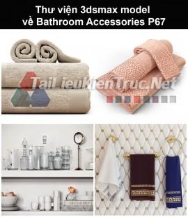 Thư viện 3dsmax model về Bathroom accessories (Đồ dùng phòng tắm) P67